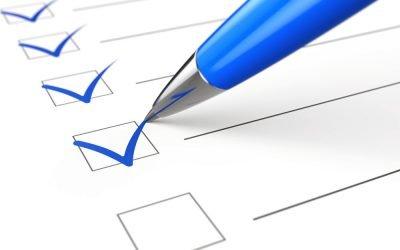 Your Safe Deposit Box Checklist